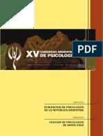 Congreso Psicología FEPRA 2014