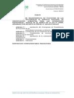 3. Cronograma de Tansferencias Sectores - SENACE D.S. N° 006-2015-MINAM