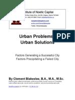 Urban Problems / Urban Solutions