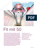 ABB Review Fit at 50 German transformer