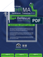 NHRMA 2016 Marketing Opportunities Brochure