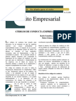 Articulo 33 Codigo de Conducta