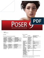 Poser 9 Reference Manual