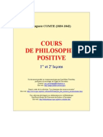 Comte,Auguste - Cours de Philosophie Positive 1 & 2 (Uqac)