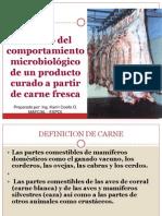 Bioquimica y Microbiologia de La Carne
