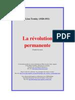 Trotsky,Léon - La révolution permanente