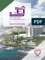 Asamblea FEI 2015 - Invitación