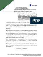 Portaria ALFSDR 35-2014 - Fornecimento de Bordo