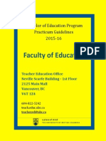 bed-practicum-guidelines-2015-16