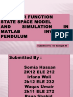 Transfer Function State Space