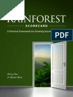 Rainforest Assessment Book