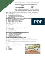 Evaluación Historia Unidad 3 Los Aztecas