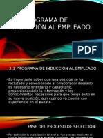 3.1-Programa de Induccion Al Empleado