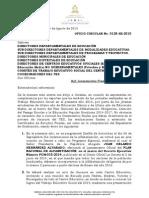 Lineamientos Finales Tes Oficio Circular 0128-Se-2015