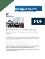 23-10-2015 RegionalPuebla - Acajete Cuenta Con Servicios Básicos de Salud de Calidad, RMV