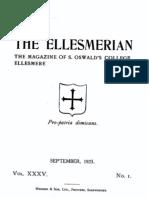 The Ellesmerian 1923 - September - XXXV - 001
