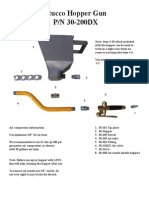 30-200Dx Parts and Instruction