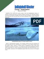 Eyjafjallajokull Glacier - Iceland Eruption