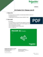 Release Note _3_ MiCOM S1 Studio V3.5.1
