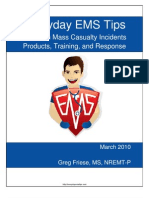 Mass Casualty Incident Response by EMS - tips, products, and training