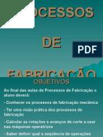 1-Classificação Dos Processos de Fabricação