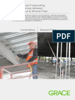Grace Spray Applied Fireproofing Education Brochure