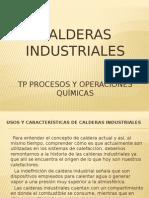 Química Industrial calderas
