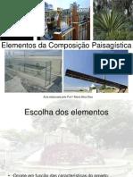 Elementos Composição Paisagística 2015