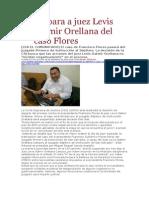 La Pagina - CSJ Separa a Juez Levis Italmir Orellana Del Caso Flores - 06 02 15