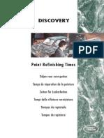 Discovery 1 - Tiempos de Repintado