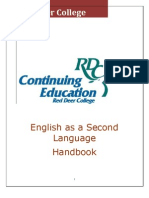 esl student handbook