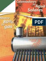 Flyer Calentadores Solares