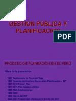 Gestión Pública y Planificación
