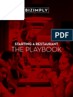 Starting a Restaurant the Playbook...