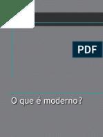 Categorias do Moderno