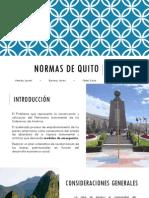 Normas de Quito 2015