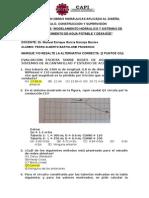 Evaluación de Modelamiento Hidráulico y Sistemas de Abastecimiennto de Agua Potable y Desagüe