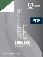 Serie KOR6810Pulg Mi