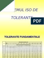 Sistemul Iso de Tolerante