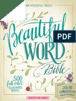 NIV Beautiful Word Bible Sampler