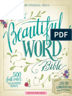 NIV Beautiful Word Bible Sampler