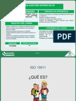 Técnicas de Auditoria Interna en Sgs&So-OHSAS 18001