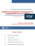 Auditoria de EE. FF