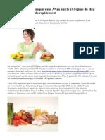Choix d'aliments lorsque vous êtes sur le régime de Hcg pour perdre du poids rapidement
