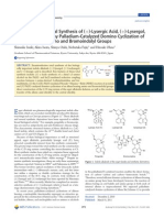 LSD Enantioselective Total Synthesis
