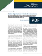 7.Cultura Organizacional e Gestâo Do Conhecimento