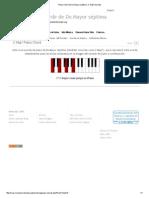 Piano Chord de Do Mayor Séptima_ C Maj7 Acordes