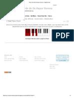 Piano Chord de Do Mayor Noveno_ C Maj9 Acordes