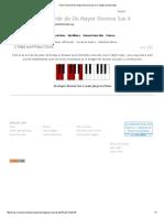 Piano Chord de Do Mayor Novena Sus 4_ C Maj9 Sus4 Acordes