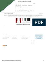 Piano Chord de C Séptima Menor_ C Min7 Acordes